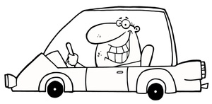 funny_looking_happy_guy_driving_a_little_cartoon_car_0521-1008-1314-5730_smu