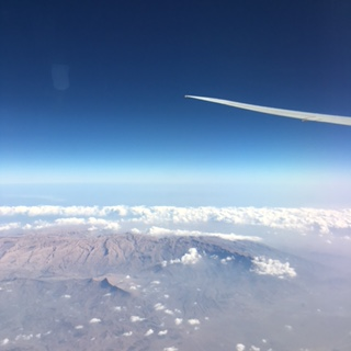 A long flight….