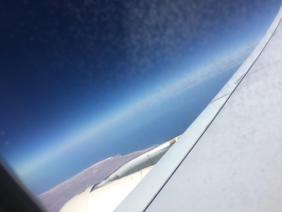 Flying 😩