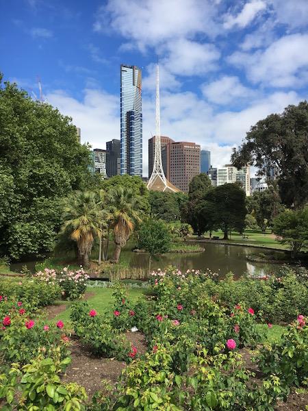 Melbourne Sparkles inSpring….