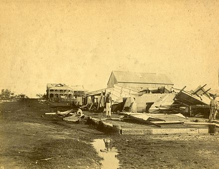 Cyclone_damage,_Palmerston,_Port_Darwin
